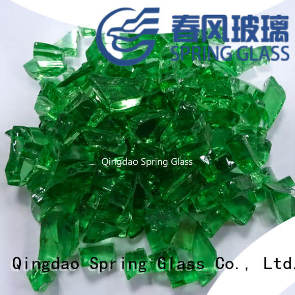 Spring Glass wholesale glass cullet supplier for fire place