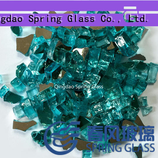 glass rocks supplier for garden Spring Glass