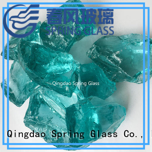 Spring Glass new recycled crushed glass supplier for kitchen