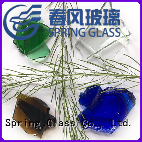 Spring Glass tempered glass cullet company for water filtration