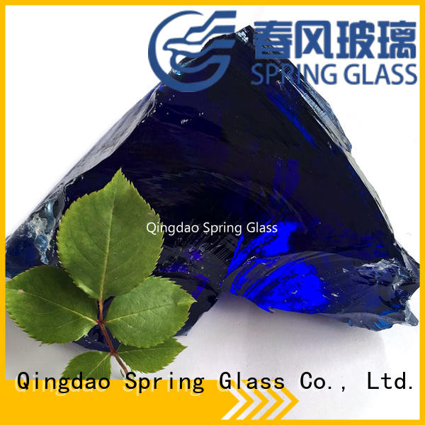 Spring Glass glass rocks manufacturer for decoration