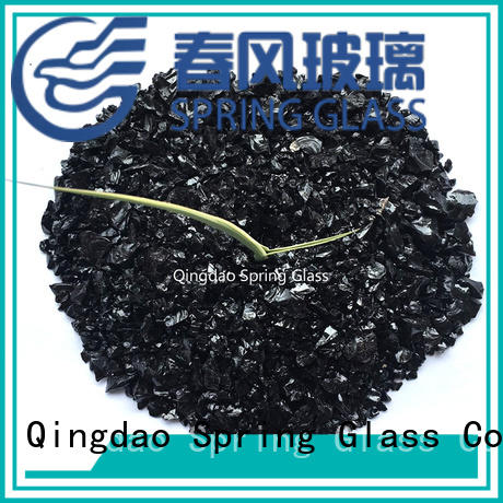 Spring Glass recycled crushed glass supplier for sale