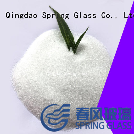 Spring Glass glass powder factory for industry