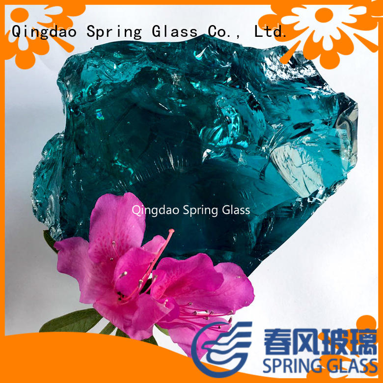 natural fire glass rocks supplier for home