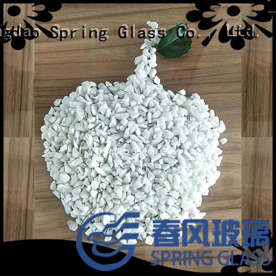 Spring Glass superior quality black crushed glass manufacturer for kitchen