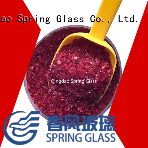 custom recycled crushed glass manufacturer for sale