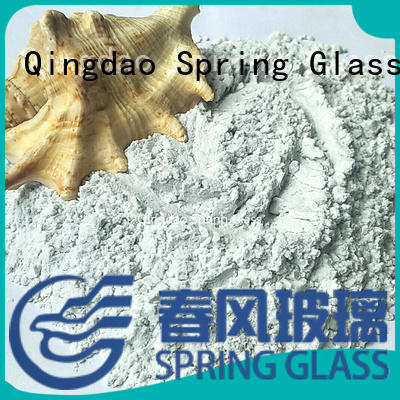 Spring Glass wholesale crushed glass powder factory for wall
