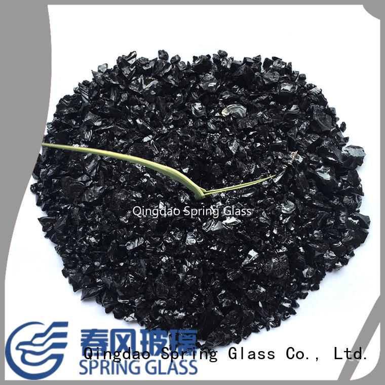 Spring Glass crushed glass for busniess for floor