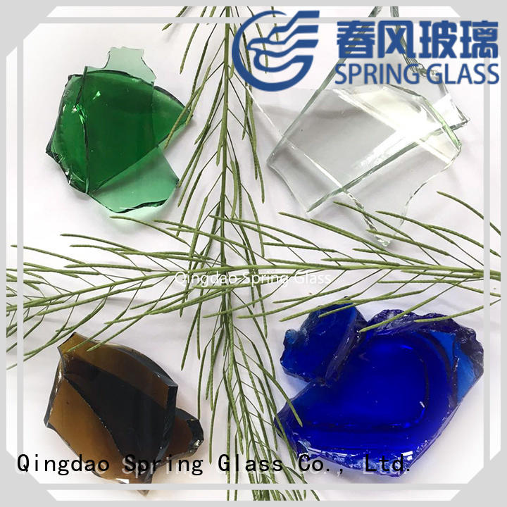 sheet glass cullet for busniess for fire bottle