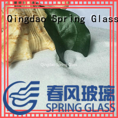 custom decorative crushed glass for busniess for decoration