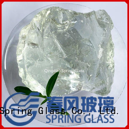 Spring Glass custom landscaping glass rocks for busniess for garden