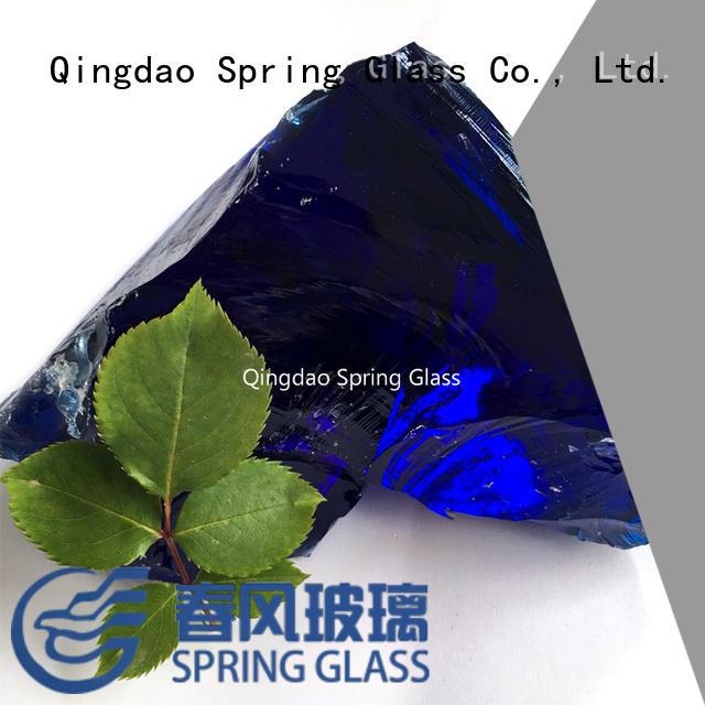 wholesale glass rocks company for decoration