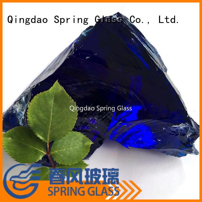 Spring Glass glass rocks for busniess for garden
