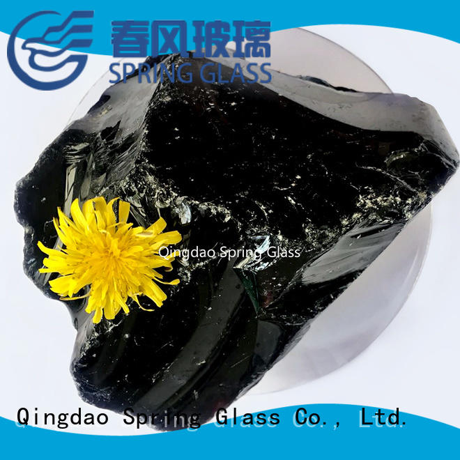 Spring Glass glass rocks wholesale for garden