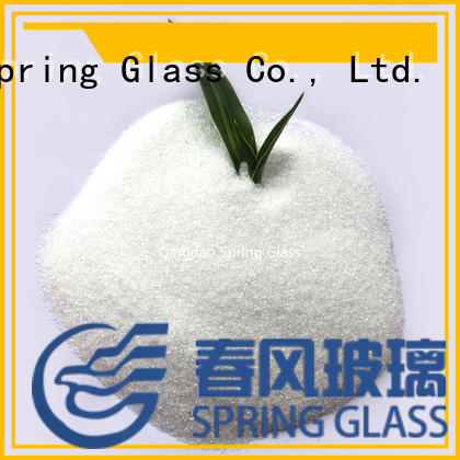 latest glass powder supplier for paving
