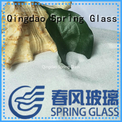 Normal white crushed glass