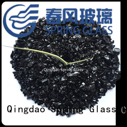 european red crushed glass supplier for kitchen Spring Glass
