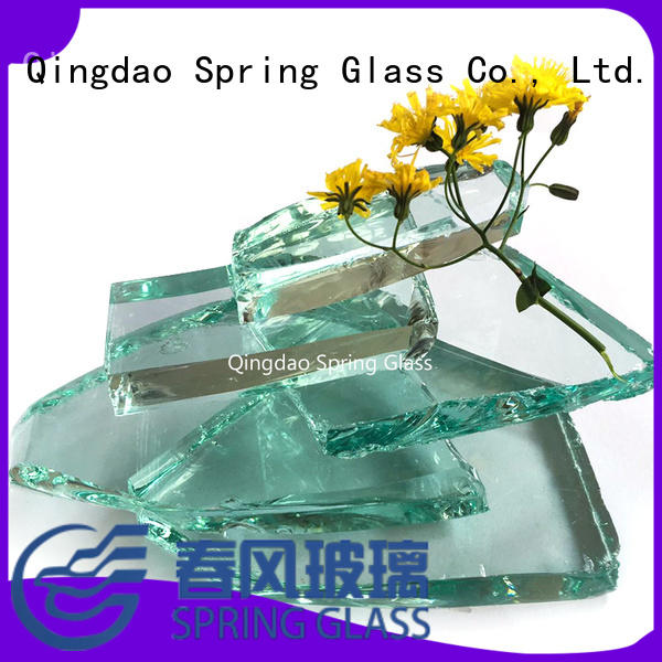 Spring Glass sheet glass cullet chips for fire pit