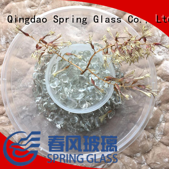 landscaping glass pebbles for swimming pool Spring Glass