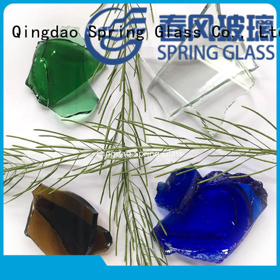 Spring Glass best glass cullet chips for fire bottle