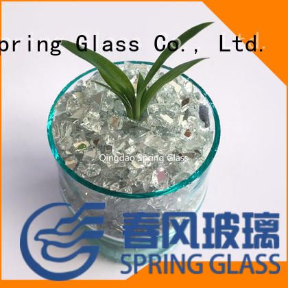 Spring Glass delicate crushed mirror chips fast delivery for sale