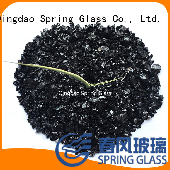 normal crushed glass supplier for decoration