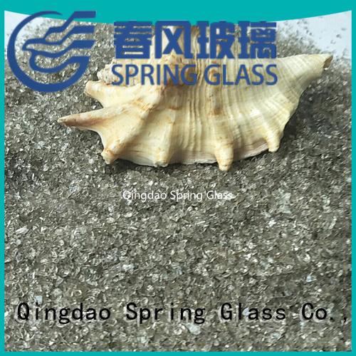 Tawny of European crushed glass