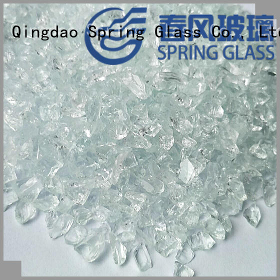 new crushed glass factory for decoration