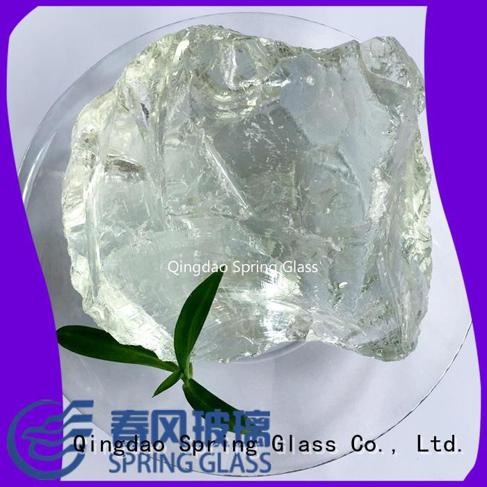 light landscaping glass rocks for busniess for home