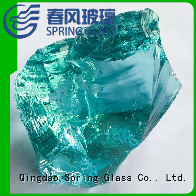 Spring Glass hot sale glass rocks landscaping manufacturer for square