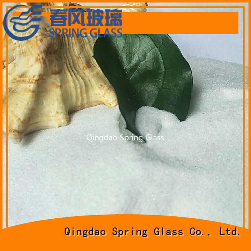 Spring Glass superior quality recycled crushed glass for busniess for floor