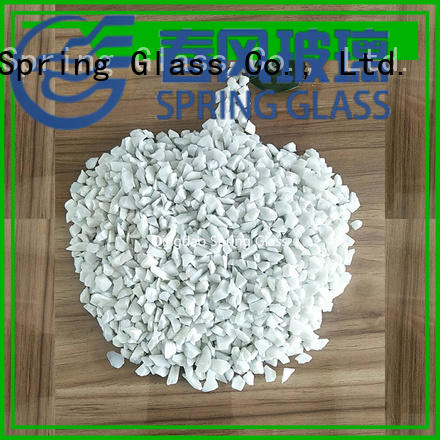 Spring Glass latest recycled crushed glass for busniess for decoration