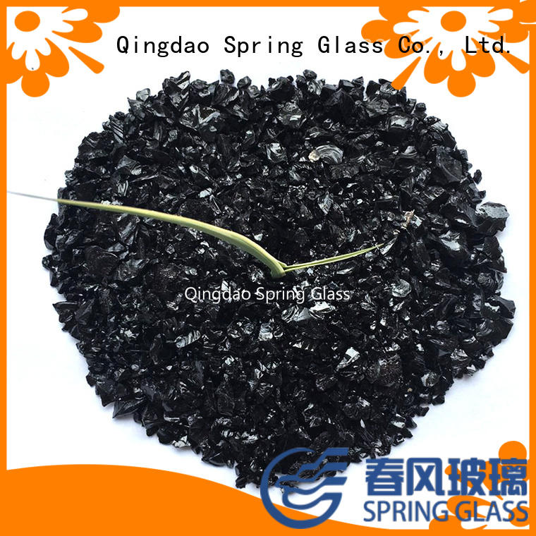 decorative crushed glass manufacturer for decoration