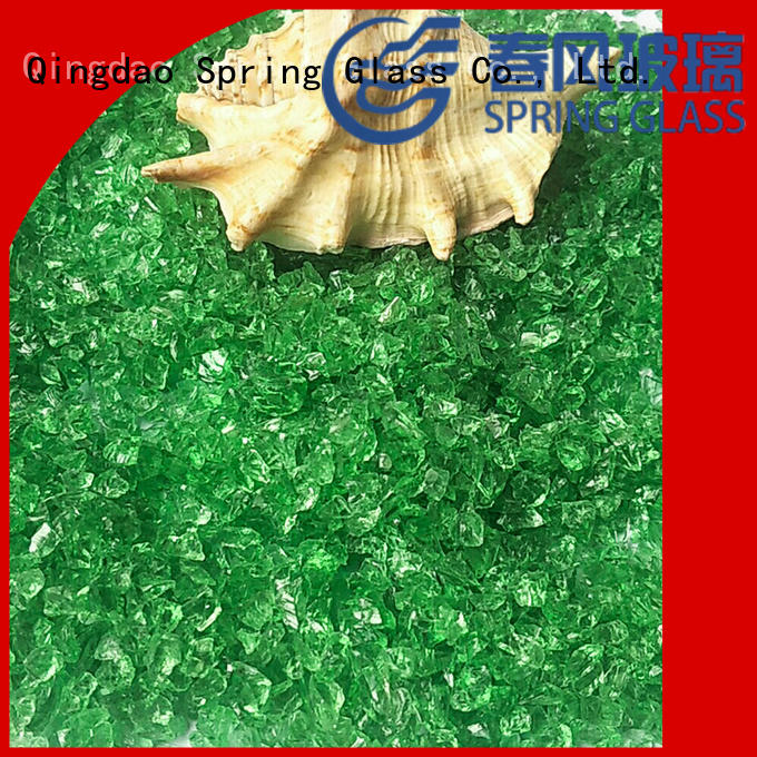 Spring Glass recycled recycled crushed glass for busniess for decoration
