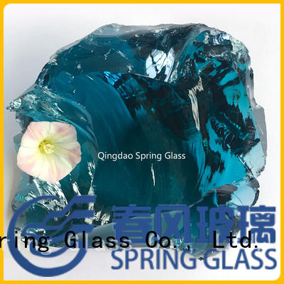 Spring Glass professional landscaping glass rocks supplier for decoration