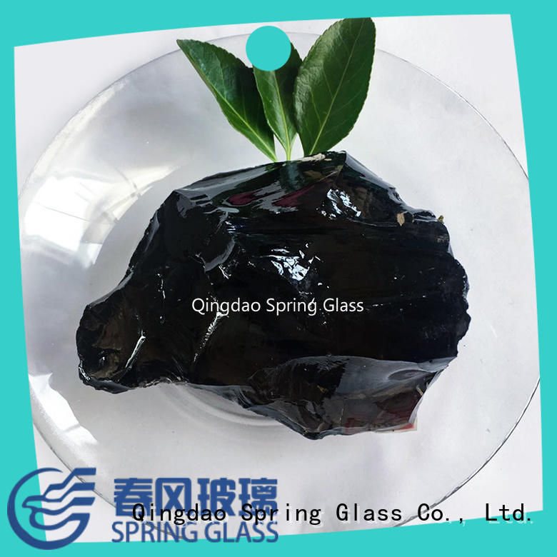 large glass rocks for gardens for home Spring Glass