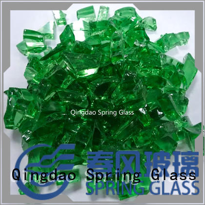 cullet for fire place Spring Glass