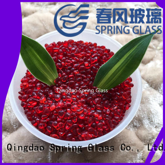 glass gravel wholesale for home Spring Glass