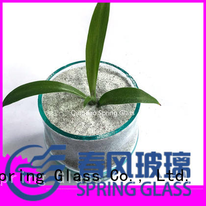 Spring Glass hot sale recycled glass chips for engineered stone