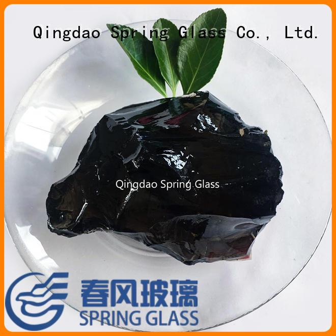 Spring Glass glass rocks company for square
