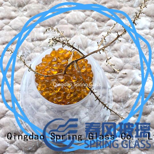 crystal glass bead gravel for swimming pool