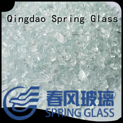 clear crushed glass for sale Spring Glass