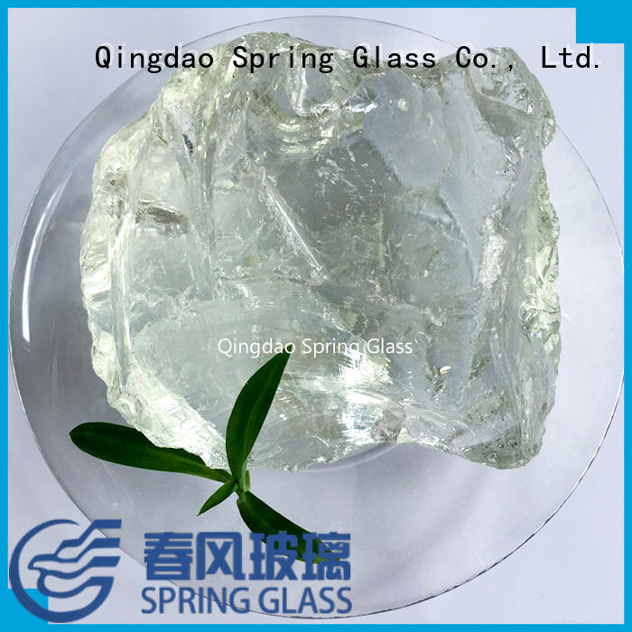 fire glass rocks supplier for square Spring Glass