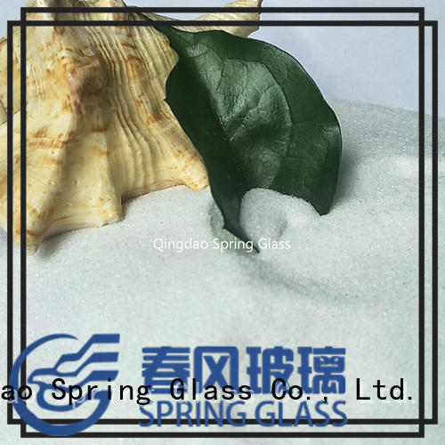 black crushed fire glass manufacturer for decoration