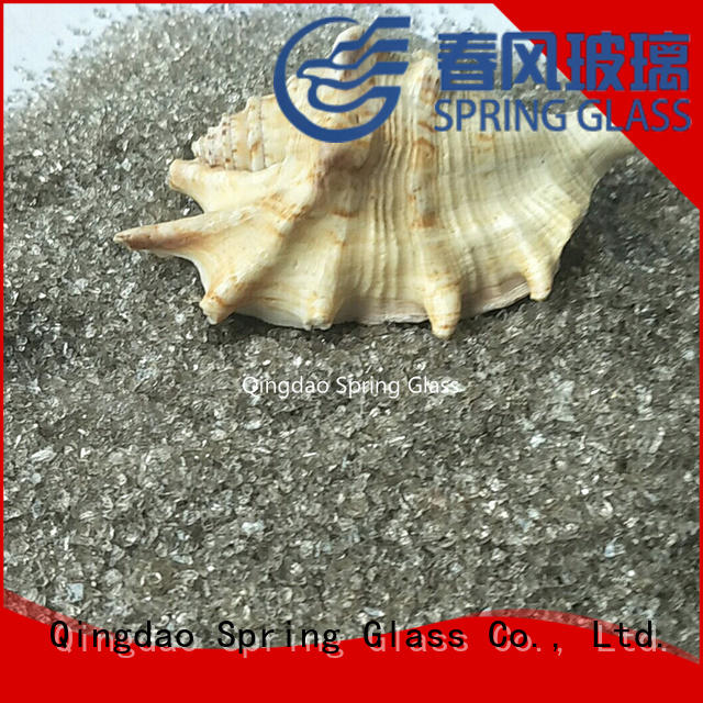 crushed glass supplier for floor