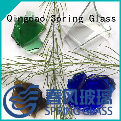 Spring Glass cullet chips for water filtration