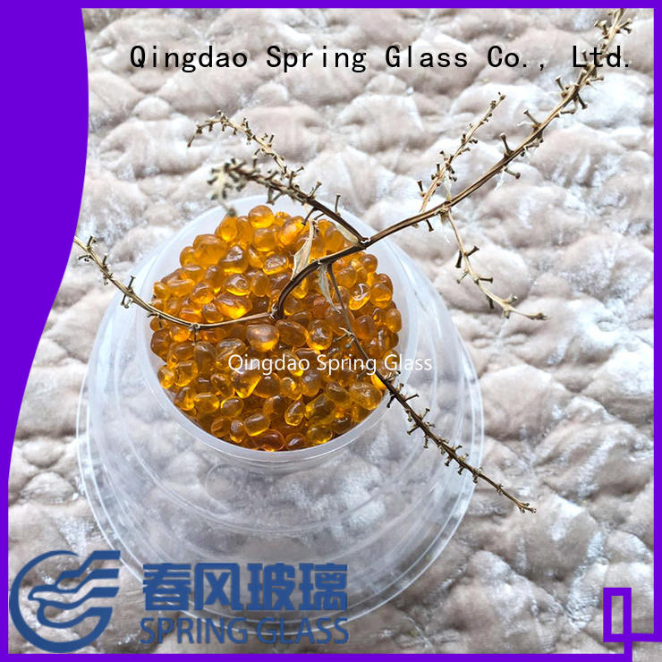 Spring Glass professional glass gravel gravel for decoration