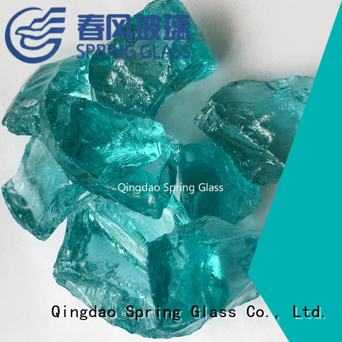 normal decorative crushed glass supplier for decoration