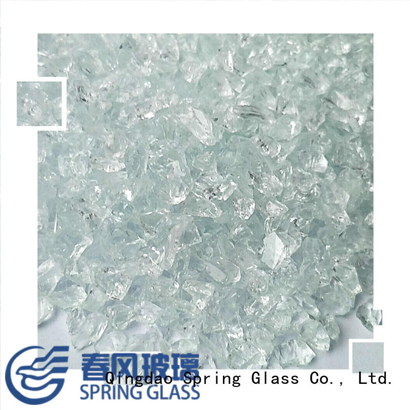 green recycled crushed glass supplier for kitchen