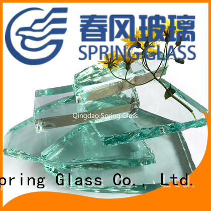 Spring Glass green cullet fast delivery for water filtration